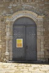 Eglise - Deutsch:   Katholische Kirche Notre-Dame-des-Anges in Angles im Département Vendée (Pays de la Loire/Frankreich), Portal