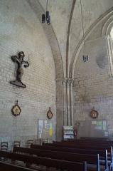 Eglise - Français:   Les colonnes de l'église Notre-Dame-des-Anges.