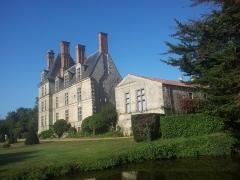 Château de la Guignardière - Deutsch: Das Schloss Château de la Guignardière unweit von Avrillé (Vendée)