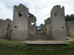 Château -  chateau de Commequiers, vendée, france  2009-08-20