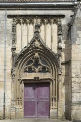 Eglise Saint-Jean - Deutsch: Katholische Pfarrkirche Saint-Jean in Fontenay-le-Comte im Département Vendée (Pays de la Loire/Frankreich), Portal