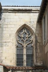 Eglise Saint-Jean - Deutsch: Katholische Pfarrkirche Saint-Jean in Fontenay-le-Comte im Département Vendée (Pays de la Loire/Frankreich), Fenster