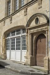 Immeuble - Deutsch: Hôtel de la Pérate (Maison de François Viète), 30 rue Gaston-Guillemet, in Fontenay-le-Comte im Département Vendée (Pays de la Loire/Frankreich)