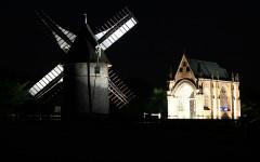 Moulins à vent du Mont des Alouettes -  Mont des Alouettes
