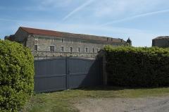 Abbaye de Lieu-en-Jard ou Lieu-Dieu - Deutsch:   Ehemalige königliche Abtei Notre-Dame de Lieu-Dieu in Jard-sur-Mer im Département Vendée (Pays de la Loire/Frankreich)
