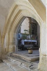 Eglise - Deutsch:   Katholische Kirche Notre-Dame-de-l'Assomption in Longeville-sur-Mer im Département Vendée (Pays de la Loire/Frankreich), Innenraum
