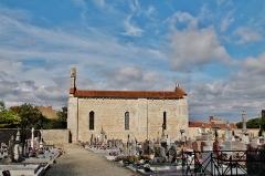 Eglise - English: L'église et le Cimetière de la Commanderie des Templiers