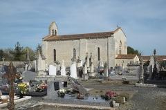 Eglise - Deutsch: Katholische Kirche Notre-Dame-de-l'Assomption in Puyravault im Département Vendée (Pays de la Loire/Frankreich)