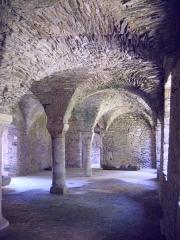 Porte de l'ancienne église abbatiale de Notre-Dame du Voeu -  Abbaye Notre-Dame du Voeu, Cherbourg-Octeville -  Cuisines.
