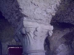 Porte de l'ancienne église abbatiale de Notre-Dame du Voeu -  Abbaye Notre-Dame du Voeu, Cherbourg-Octeville -  Cuisines: Chapiteau du XIXe s.