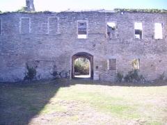 Porte de l'ancienne église abbatiale de Notre-Dame du Voeu -  Abbaye Notre-Dame du Voeu, Cherbourg-Octeville -  Cloitre et hôtel d'Harcourt.