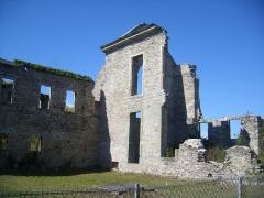 Ancienne abbaye Notre-Dame-du-Voeu à Octeville -  Abbaye Notre-Dame du Voeu, Cherbourg-Octeville -  Hôtel d'Harcourt et église abbatiale.