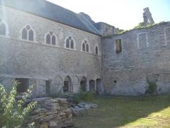 Porte de l'ancienne église abbatiale de Notre-Dame du Voeu -  Abbaye Notre-Dame du Voeu, Cherbourg-Octeville -  Cloitre.