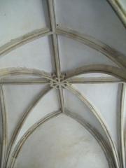 Ancienne abbaye Notre-Dame-du-Voeu à Octeville -  Abbaye Notre-Dame du Voeu, Cherbourg-Octeville - Salle capitulaire.