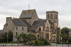 Basilique Sainte-Trinité - Français:   Basilique Sainte-Trinité, Cherbourg