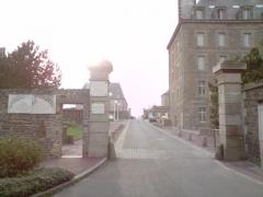 Casernes du Roc - English: Barracks Roc Granville.