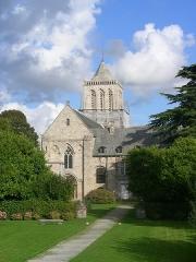 Abbaye de la Lucerne - English: Abbey of Saínte Trinité de La Lucerne, the Church