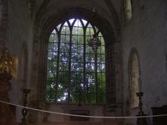 Abbaye de la Lucerne - English: Abbey of Saínte Trinité de La Lucerne, the Church, interior, choir