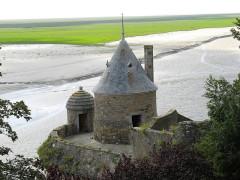 Enceinte des Fanils -  Mont-Saint-Michel