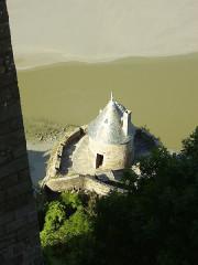Enceinte des Fanils -  Mont Saint-Michel; Frankreich