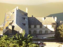 Enceinte des Fanils -  Mont Saint-Michel; Frankreich;