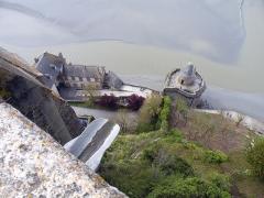 Enceinte des Fanils -  Мон-сен-Мишель.Башня Габриель.