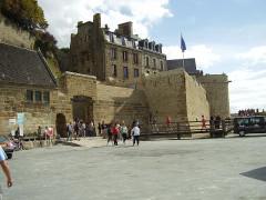 Immeubles et terrains -  Mont Saint-Michel; Frankreich;