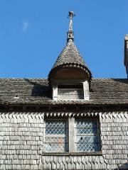 Maison dite de l'Artichaut (ancienne hôtellerie de la Licorne) -  Abbaye du Mont Saint Michel - Merveille du monde