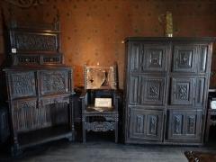 Maison dite Logis Tiphaine-de-Raguenel - English: Museum at the Logis Tiphaine Raguenel (Mont-Saint-Michel)