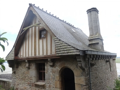 Maison dite Logis Tiphaine-de-Raguenel - English: Museum at the Logis Tiphaine Raguenel (Mont-Saint-Michel)
