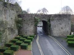 Vestiges des remparts -  Remparts of Saint-Lô