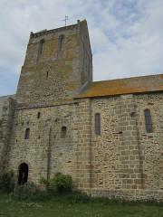 Ancien prieuré de Saint-Léonard - Français:   Vains, Manche