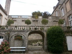 Hôtel de Grandval-Caligny - Français:   Hôtel Grandval-Caligny, rue des religieuses, Valognes - Balustrades