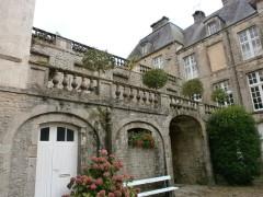 Hôtel de Grandval-Caligny - Français:   Hôtel Grandval-Caligny, rue des religieuses, Valognes - Cour