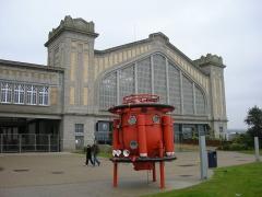 Ancienne gare maritime -  La Cité de la Mer à Cherbourg, Normandie