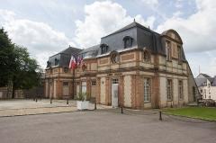 Château et ses communs -  Château de L'Aigle (Eure, Normandie, France)
