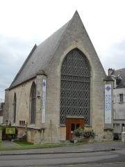 Ancienne chapelle du château, ou chapelle Saint-Nicolas - English: The tourist office, a former chapel, of Argentan, Orne, France.