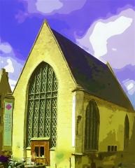 Ancienne chapelle du château, ou chapelle Saint-Nicolas - English: Chapel for the dukes of alencon in Argentan