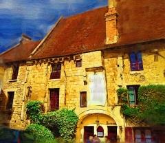 Ancienne église Notre-Dame-de-la-Place - English: Old Abbay in Argentan now a restaurant