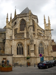 Eglise Saint-Martin - English: The Saint Martin Church, in Argentan, Orne, France.