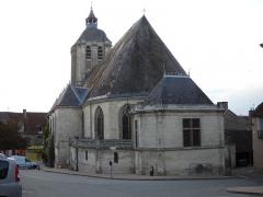 Eglise Saint-Sauveur - English: St.Sauveur's church, in Bellême, Orne, France.