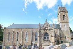 Eglise - Français:   Église Saint-Pierre et Saint-Paul de Bréel, dans l\'Orne.
