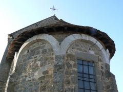 Chapelle Saint-Gervais -  Chevet chapelle St Gervais, Briouze