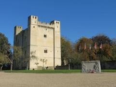 Château fort - Français:   Vue de la place principale de Chambois
