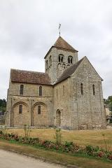 Eglise Notre-Dame-sur-l'Eau ou Notre-Dame-sous-l'Eau -  Vue extérieur de l'église.