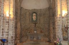Eglise Notre-Dame-sur-l'Eau ou Notre-Dame-sous-l'Eau -  Le choeur de l'église.