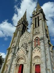 Eglise Notre-Dame de l'Assomption - English:   Église Notre-Dame-de-l\'Assomption de la Ferté-Macé