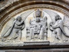 Eglise Notre-Dame de l'Assomption - Français:   détail église La Ferté-Macé
