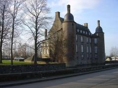 Ancien château -  Photo du château de Flers prise le 04/02/07.