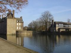 Ancien château -  Photo du château de Flers de l'Orne prise le 04/02/07.